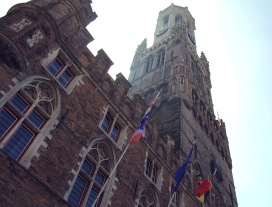 Belfry of Bruges in May 2013