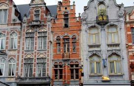 Buildings in Antwerp, Belgium
