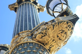 Details of the monuments in Paris