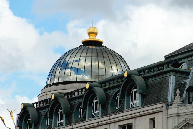 Sky Reflected in dome