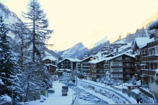 Beautiful Ski Resort in Zermatt Switzerland