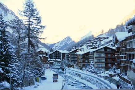 Beautiful Ski Resort in Zermatt Switzerland