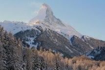 The Matterhorn on a clear day