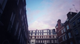Buildings in London (taken on phone)