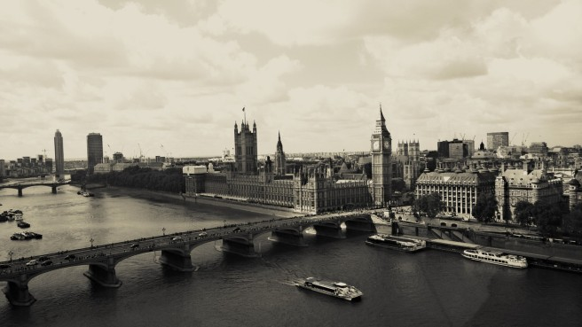 View of London (taken on phone)