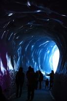 The ice caves in Chamonix