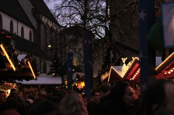 The christmas markets in Basel are one of the biggest in Switzerland